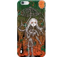 Girl: in Rain iPhone Case/Skin