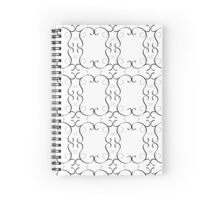 A cool Pattern Just for you !!! Spiral Notebook
