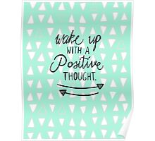 Positive Thought Poster
