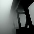 Mission Bridge in the Fog by Annie Lemay  Photography