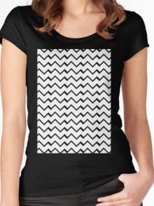 A cool Pattern Just for you !!! Women's Fitted Scoop T-Shirt