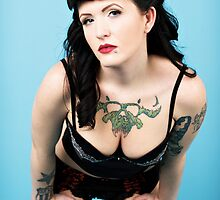 Ashley the Pin Up Girl by gregk72