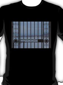 Through the Wrought Iron Gate T-Shirt