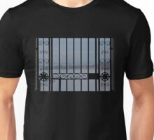 Through the Wrought Iron Gate Unisex T-Shirt