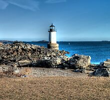 Winter Island Lighthouse by Terence Russell