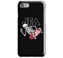 JFA Skleton Skate iPhone Case/Skin