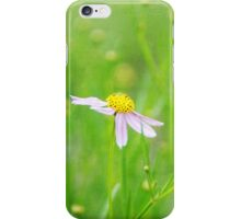 Textured flowers iPhone Case/Skin