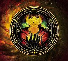 Edward Transmutation Circle by nosreffej