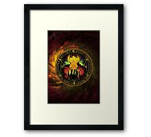 Edward Transmutation Circle Framed Print