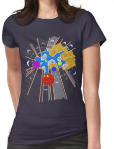Helium Happiness Womens Fitted T-Shirt