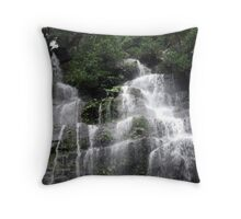 Watagan Waterfall 2 Throw Pillow