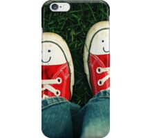 Shoes With Smiles iPhone Case/Skin