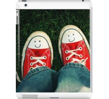 Shoes With Smiles iPad Case/Skin