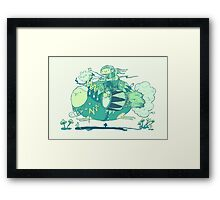 Walk with a friend Framed Print