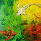 Butterfly Koi by Abstract D'Oyley