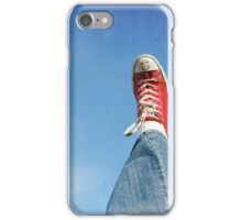 Happy shoes in the sky iPhone Case/Skin
