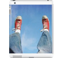 Happy shoes in the sky iPad Case/Skin