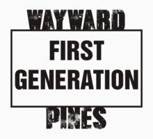 Wayward Pines - First Generation Kids Clothes