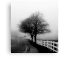 The Fog Rolls In Canvas Print