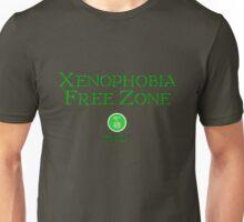 Xenophobia Free Zone Unisex T-Shirt