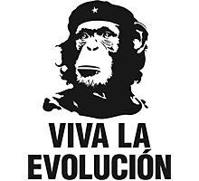 VIVA LA EVOLUCION Photographic Print