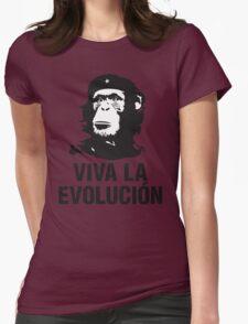VIVA LA EVOLUCION Womens Fitted T-Shirt