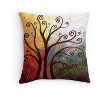 Reaching for the Dream Throw Pillow