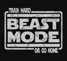 Beast Mode - Train Hard Or Go Home Kids Tee