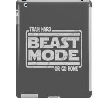 Beast Mode - Train Hard Or Go Home iPad Case/Skin