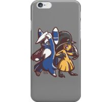 Meowstic and Mawile iPhone Case/Skin