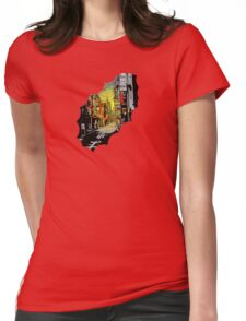 sumi-e  Womens Fitted T-Shirt