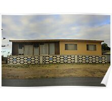 Esplanade Shack No 7 - Aldinga Beach, South Australia Poster