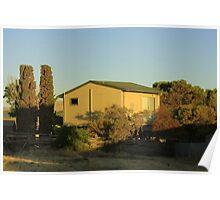 Shack No 8 - Aldinga Beach, South Australia Poster