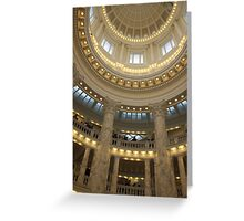 Capital Beauty Greeting Card