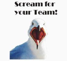 Scream for you team Kids Clothes