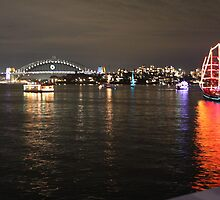 Sydney Harbour Bridge New Years Eve by jellybean123