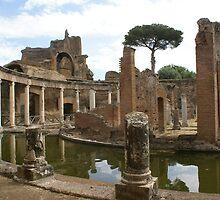 Teatro Marittimo, Hadrian's Villa, Tivoli, near Rome by BronReid