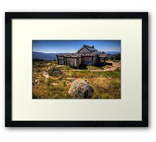 Down by Kosciusko - Craigs Hut , Mt Sterling - The HDR Experience Framed Print