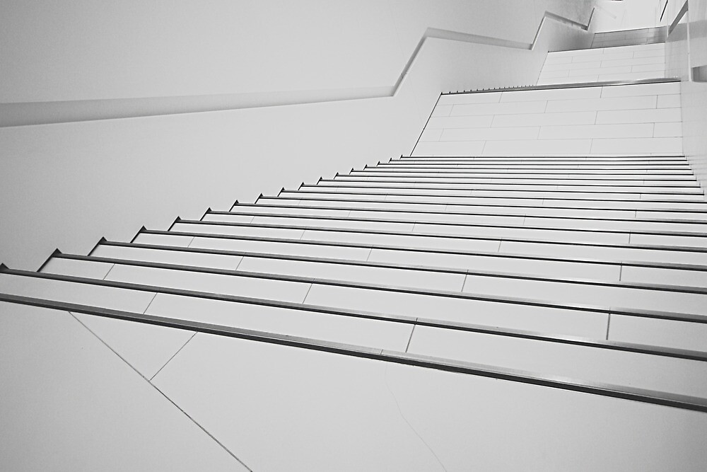 Porsche Museum - Stairs 1 by PeterBusser