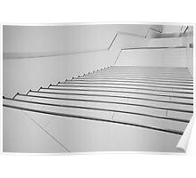 Porsche Museum - Stairs 1 Poster