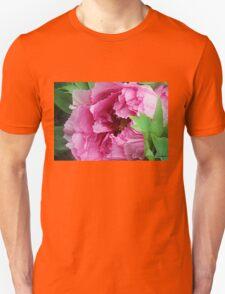 Pink April Tree Peony Unisex T-Shirt
