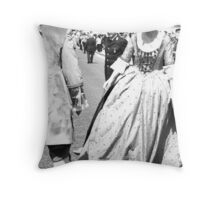 St Lucia Celebrations (Siracusa, Italy) Throw Pillow