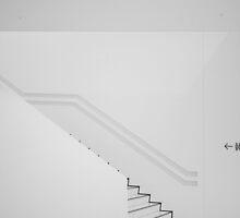 Porsche Museum - Stairs 2 by PeterBusser