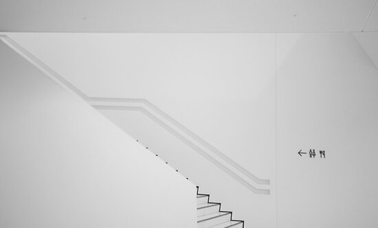 Porsche Museum - Stairs 2 by PeterBusser