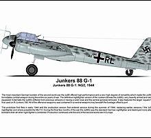 Junkers Ju 88G Nightfighter Profile by coldwarwarrior