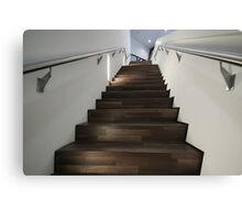 Porsche Museum - Stairs 4 Canvas Print