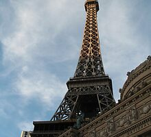 Faux Eiffel Tower by Robert Stephens