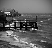 Southsea on a VERYwindy day! by andrewfoster