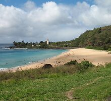 Waimea Bay, Oahu, Hawaii by Robert Stephens