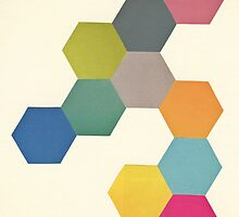 Honeycomb I by Cassia